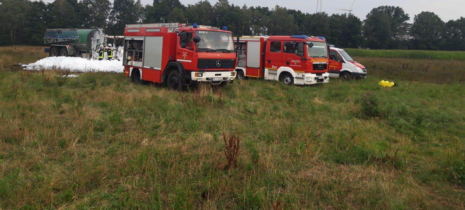 Gebäudebrand – Menschenleben in Gefahr