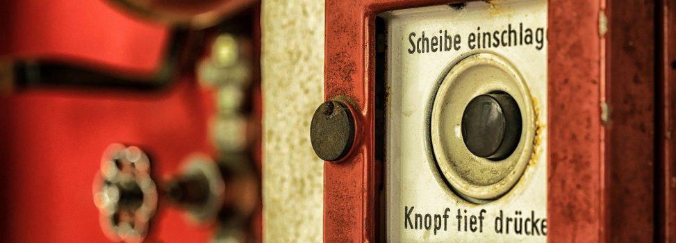 Tür verschlossen