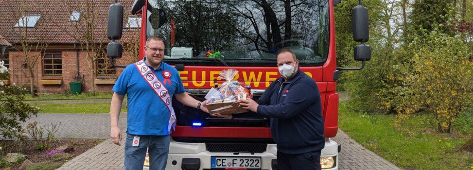 Ortsbrandmeister Christoph Mohwinkel feiert 40. Geburtstag